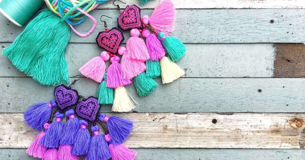 Our Guide To Make Some Crafty Earrings At Home