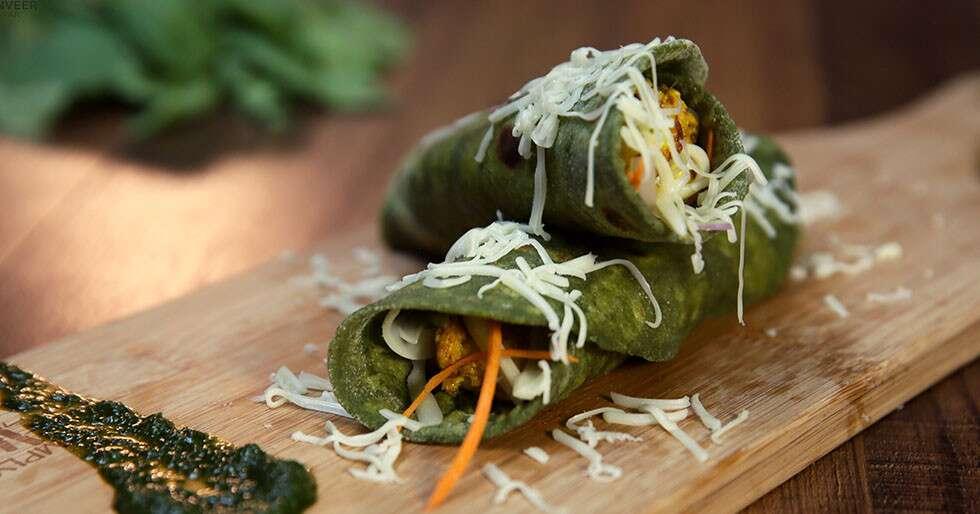 Father's Day Ranveer Brar recipes - Paneer Cheese Kathi Rolls