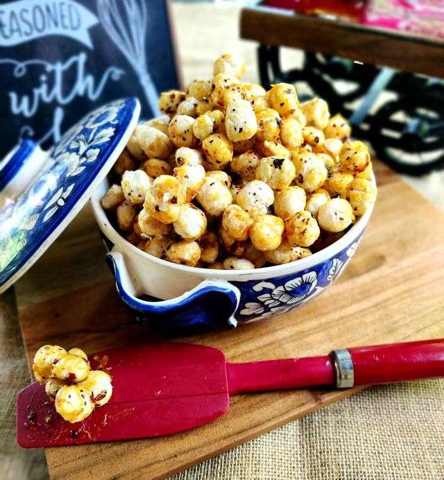 Honey Chili Makhana (Fox nuts)