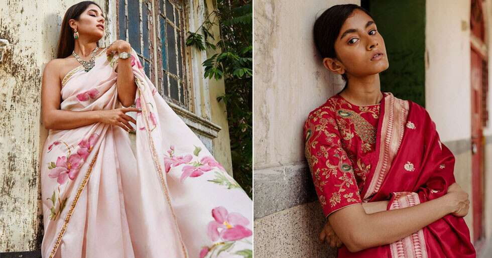 These Sari Brands Will Make Your Festivities Prep Super Fun