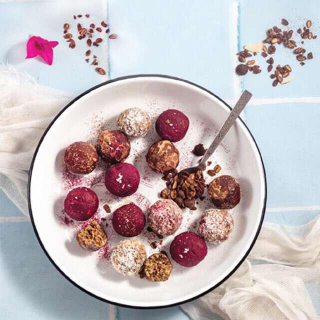 Chocolate Muesli Bliss Balls