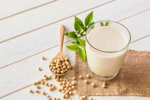 High Protein Vegan Foods - Soy Milk