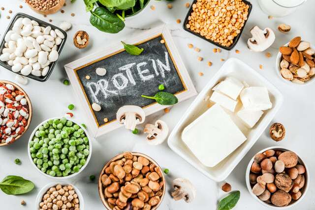 High Protein Snacks Infographic