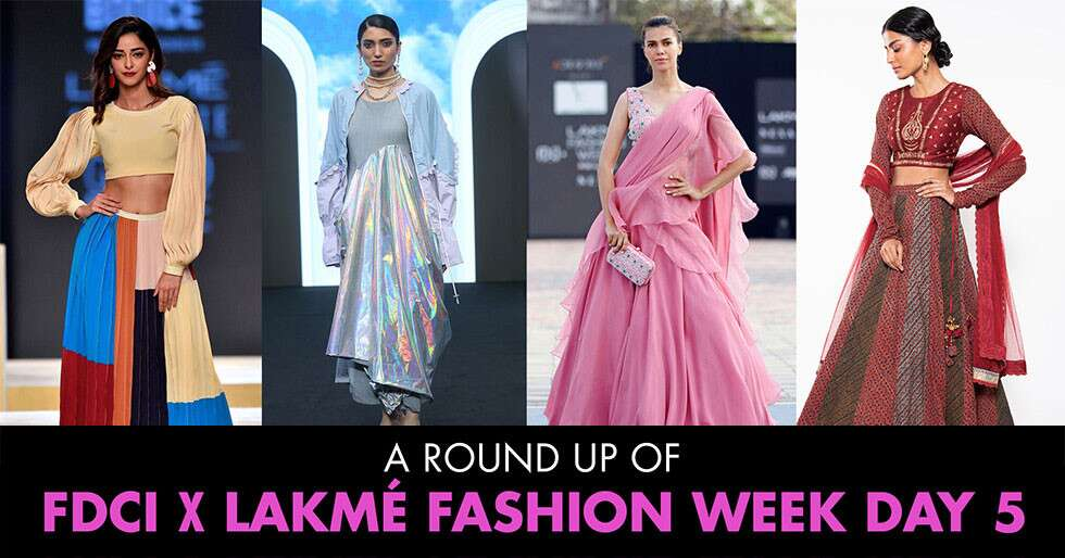 Highlights From Day 5 Of FDCI x Lakme Fashion Week 2021