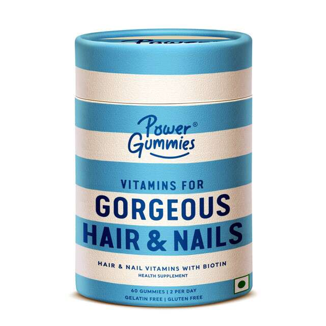 Hair And Nail Vitamins, Power Gummies