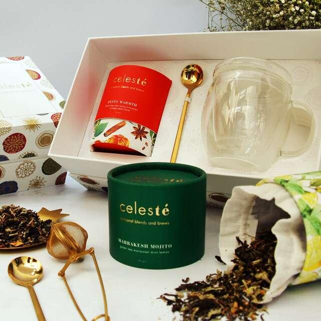 Artisanal Tea Gift Boxes, CELES TÉ