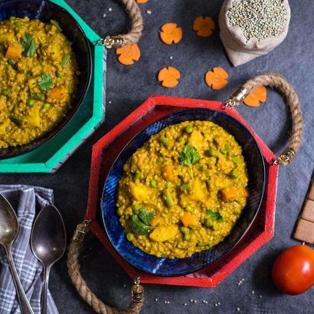 Healthy Dinner Recipes: Masala Bajra Khichdi