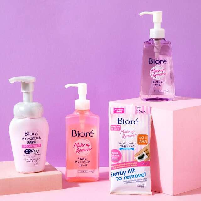 Makeup Remover Range, Biore India