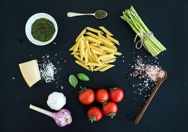 Stir Fried Vegetables With Pasta