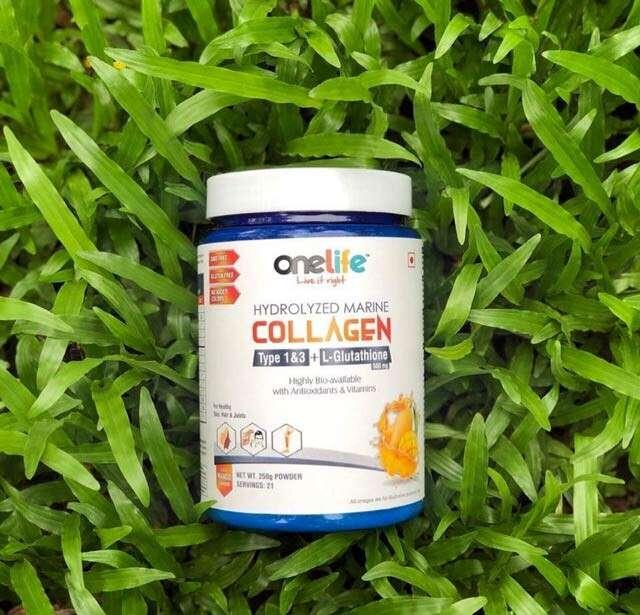 Hydrolyzed Marine Collagen, OneLife