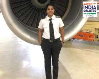 #IndiaSalutes: Kerala's First Woman Commercial Pilot