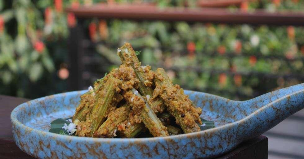 Goan food Drumsticks Sukhem