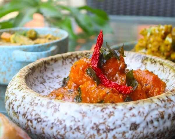 Goan food mango sansav