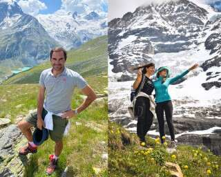 Exclusive: Roger Federer Picks Swiss Experiences for Your Gang Of Girls