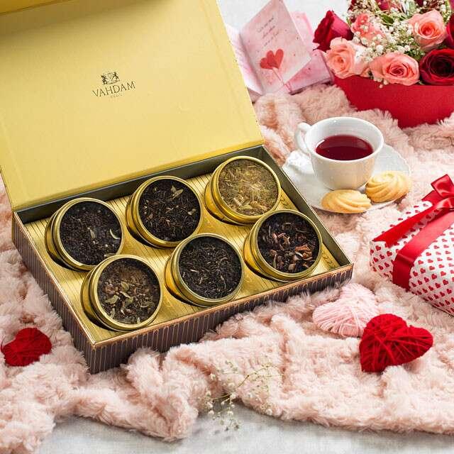 GLOW Assorted Teas Gift Set, Vahdam India