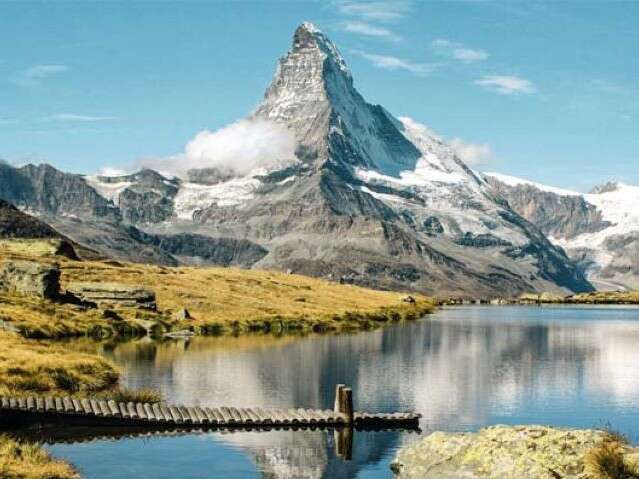 t Swiss mountains - matterhorn