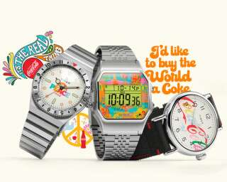 Two Iconic Brands—Timex X Coca Cola—Collaborate For A Timeless Collection