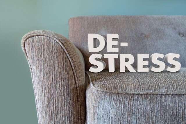 Stress to reduce hair loss