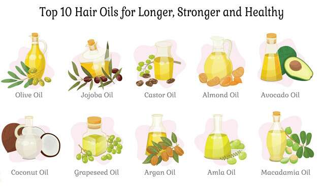 10 Hair Oils for Long, Strong and Healthy