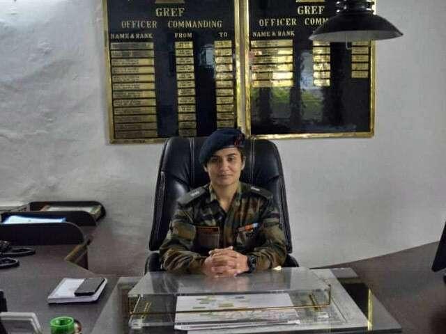 Major Aaina Rana