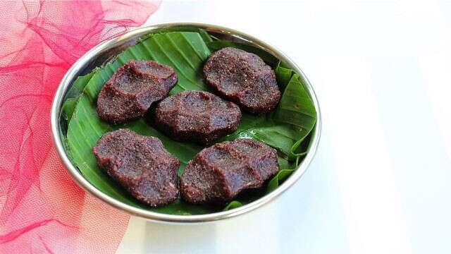 Black Rice Sweet Modak