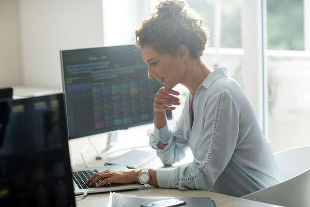 Women do not fear the stock market…
