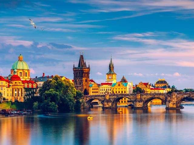 Prague beautiful city main