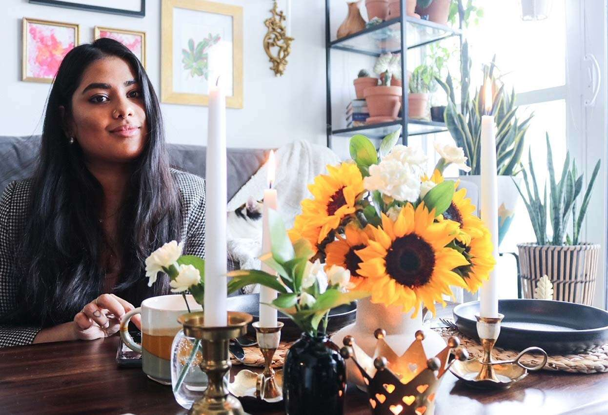 Create a Pet-Friendly & Organically-Styled Table by Blogger Shrutilaya Ramanathan
