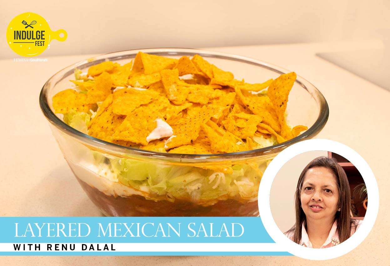 Layered Mexican Salad with Renu Dalal