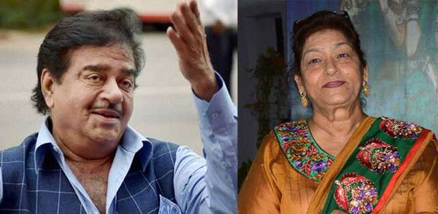 Shatrughan sinha and saroj khan