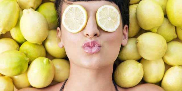 Get fair skin by Lemon