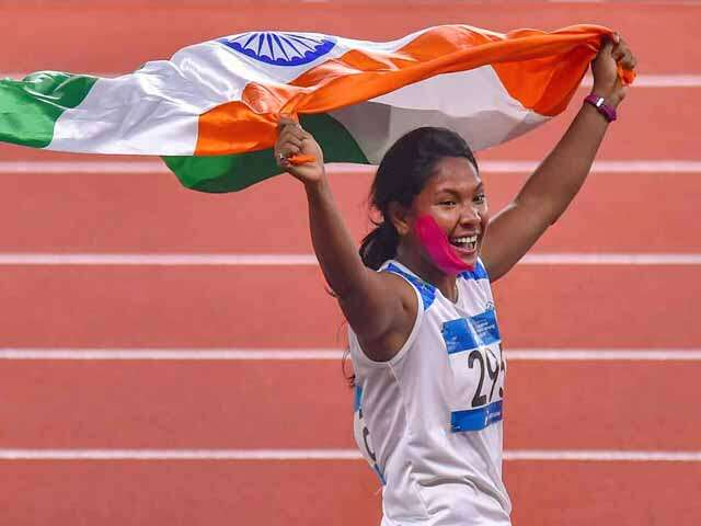 swapna barman won gold medal in Aisan Games 2018