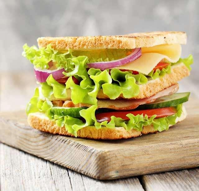 Testy veg sandwich