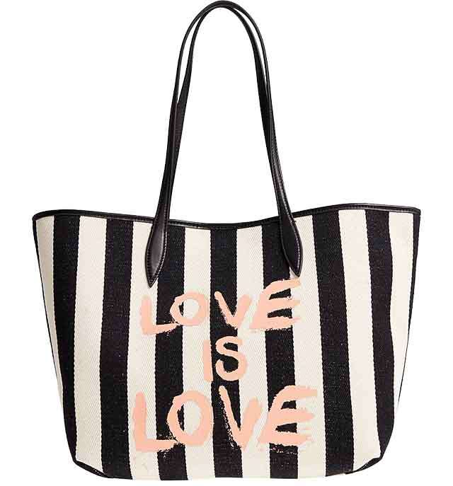 Use these oversized tote bags