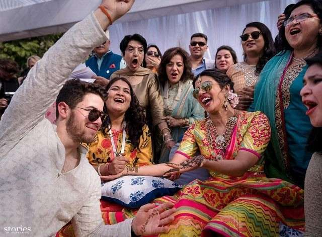 Nick and Priyanka Chopra's Sangeet ceremony's special pictures