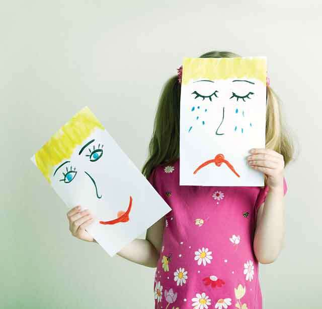 how to handle mood swings of child