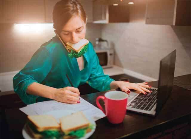 Health risks of multi-tasking