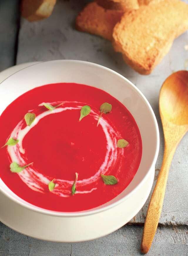 Beet Yogurt Soup