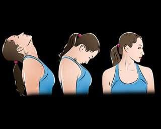 लचीली गर्दन के लिए एक्सरसाइज़