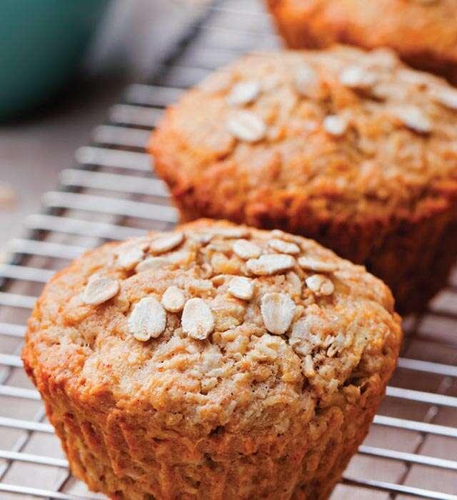 Vegan Oat Muffins