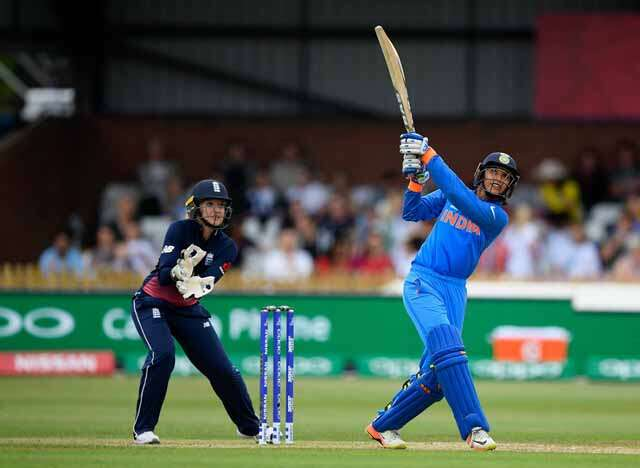 Smriti Mandhana made fastest t-20 half century in women's cricket
