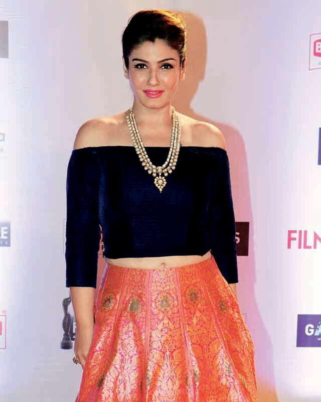 Make elegant bouffant just like Raveena Tandon
