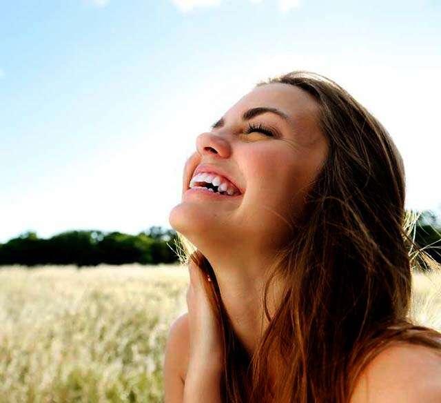 women happy