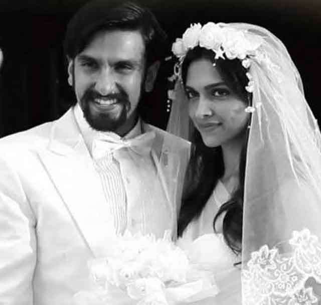 today deepveer will get married in Italy