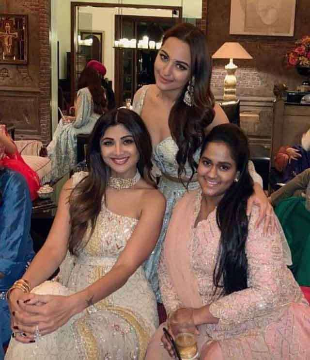 Bollywood star's Diwali party