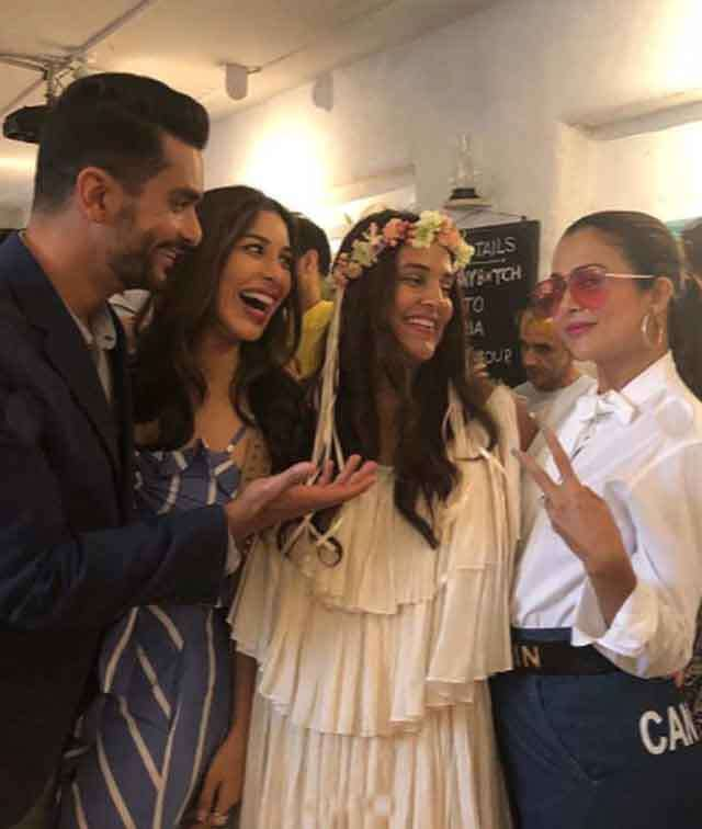 Bollywood in Neha Dhupia's Baby Shower