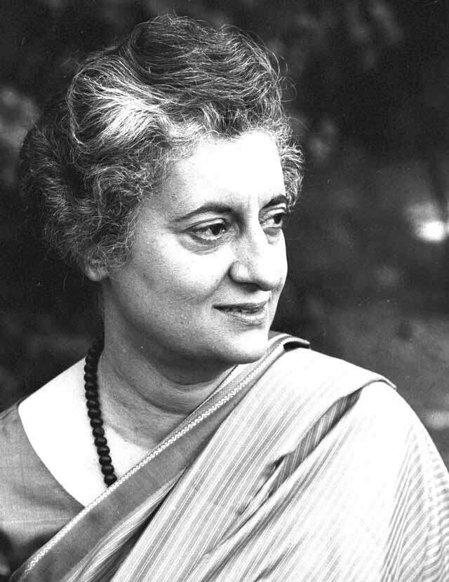 Last day of Indira Gandhi