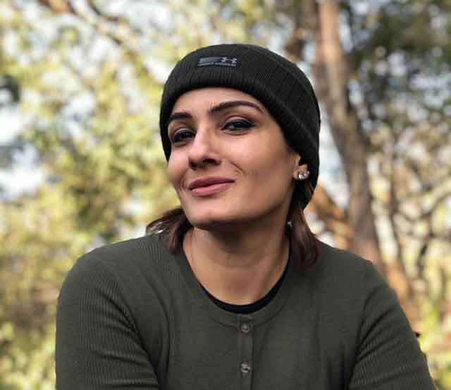 Glamorous Raveena at 44