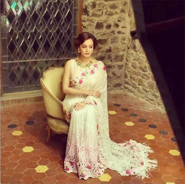 Dia Mirza's 9 stunning saree looks