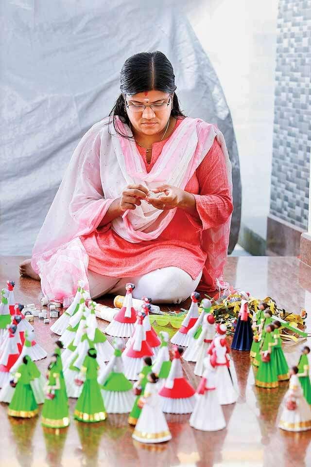 Meet kerla based doll maker Vijitha Ratheesh